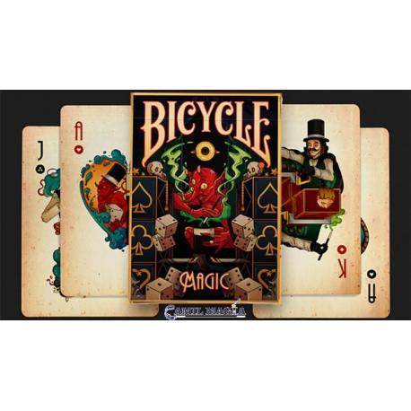 Baraja Magic (BIcycle) por Prestige Paying Cards