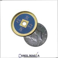 China Bronze scale Half Dollar Size by Camil Magic