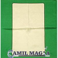 "Pañuelo Estampado 30 cm ""Carta Blanca"" por Di Fatta"