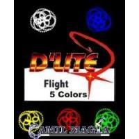 D'Lite 5 Colores Super Luminoso (Par) Incluye Cargador y Baterías