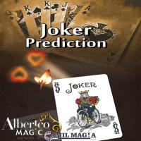 Joker Predicción (Bicycle) por Alberico Magic
