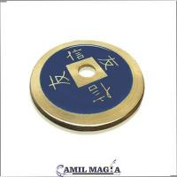 Moneda China Bronce Tamaño 1 Dolar por Camil Magia