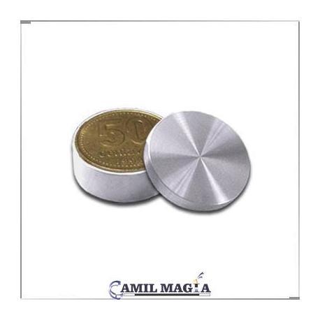 Caja Okito 50c Aluminio por Camil Magia