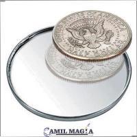 Moneda Doble Dorso Medio Dolar por Camil Magia