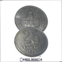Moneda Flipper 25c por Camil Magia
