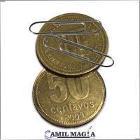Moneda Flipper Magnética 50c por Camil Magia