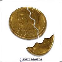 Moneda Mordida Sistema Externo 50c por Camil Magia