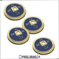 Set 4 Monedas Chinas Bronce por Camil Magia por Camil Magia