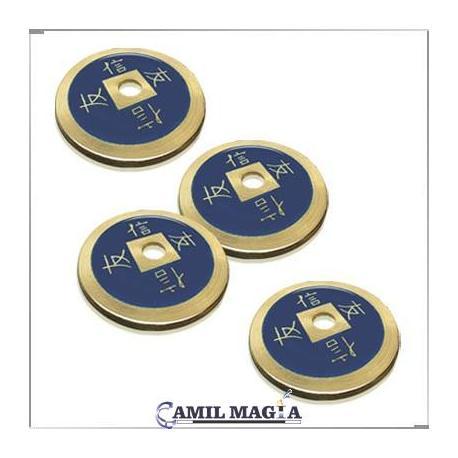 Set 4 Monedas Chinas Bronce
